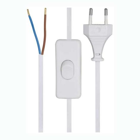 Tilkoblingsledning 2x0,75² med  Euro-plugg