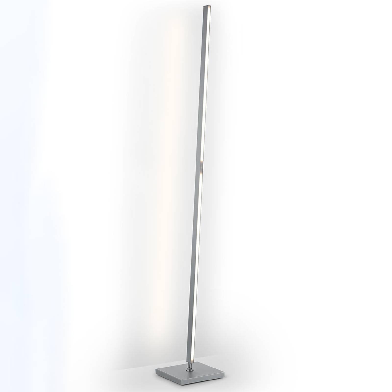 Lampadaire LED Meli rectiligne, commande gestuelle