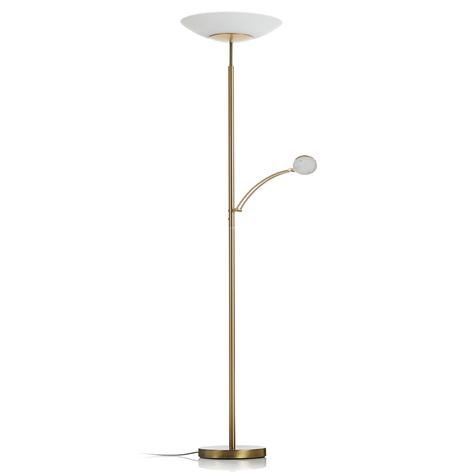 Paul Neuhaus Alfred lampada LED da terra ottone