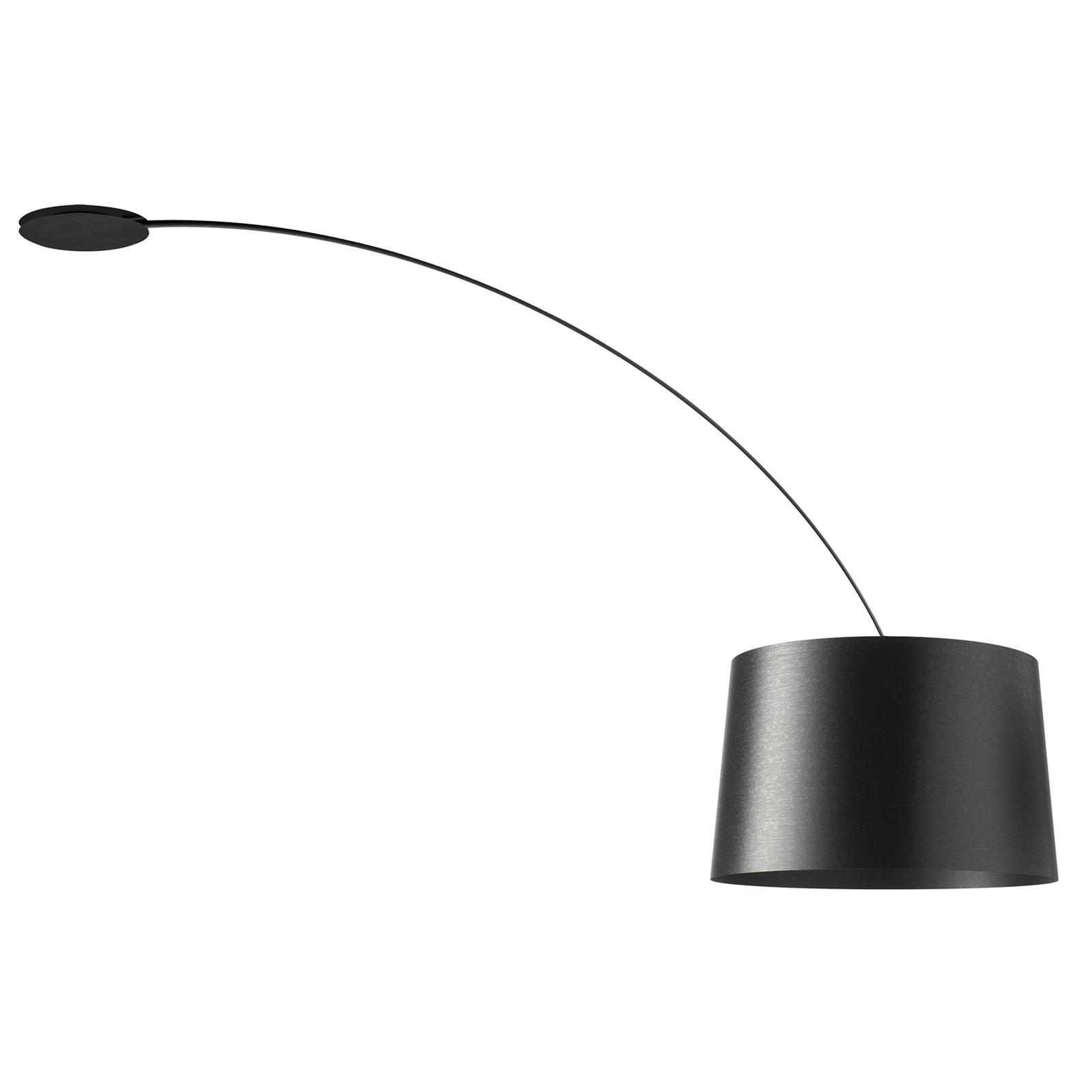 Foscarini Twiggy lampa wisząca łuk, czarna