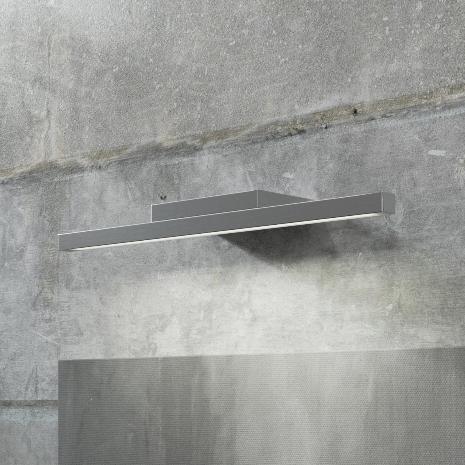 GROSSMANN Forte LED-vägglampa, förkromad 49,4 cm