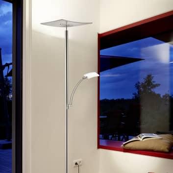 B-Leuchten Modena LED-Deckenfluter, nickel matt