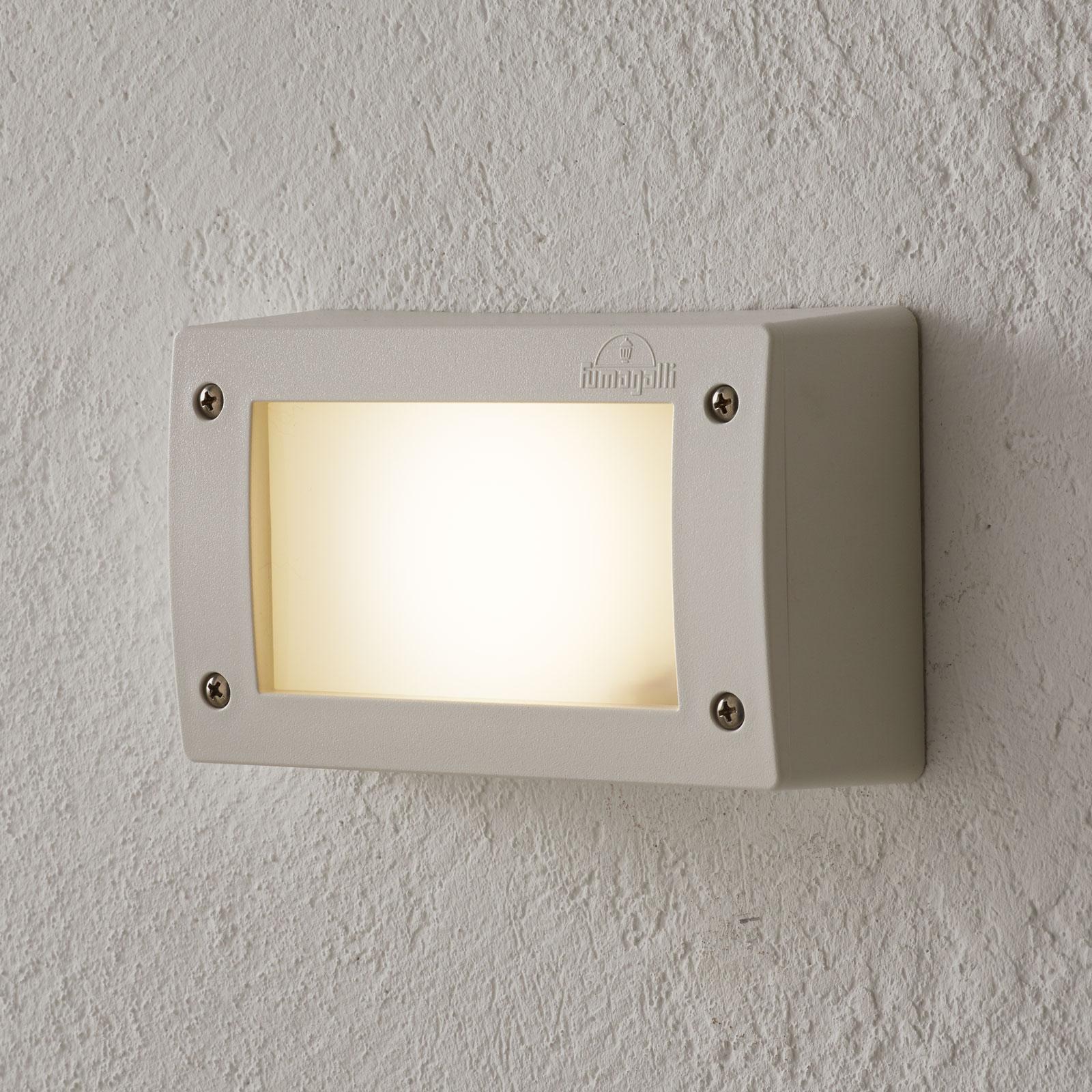 LED-vegglampe Extraleti 200, rektangulær