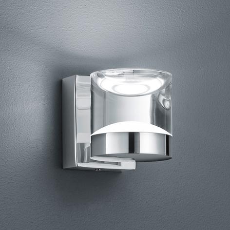 Kiiltokromattu kylpyhuoneen LED-seinälamppu Brian