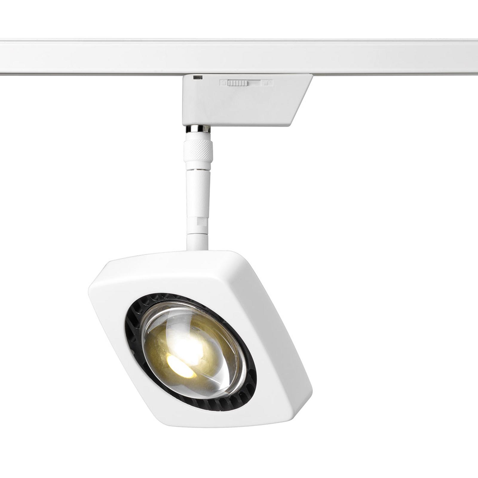 Oligo Kelveen LED-skinnespot varmhvit 90° hvit