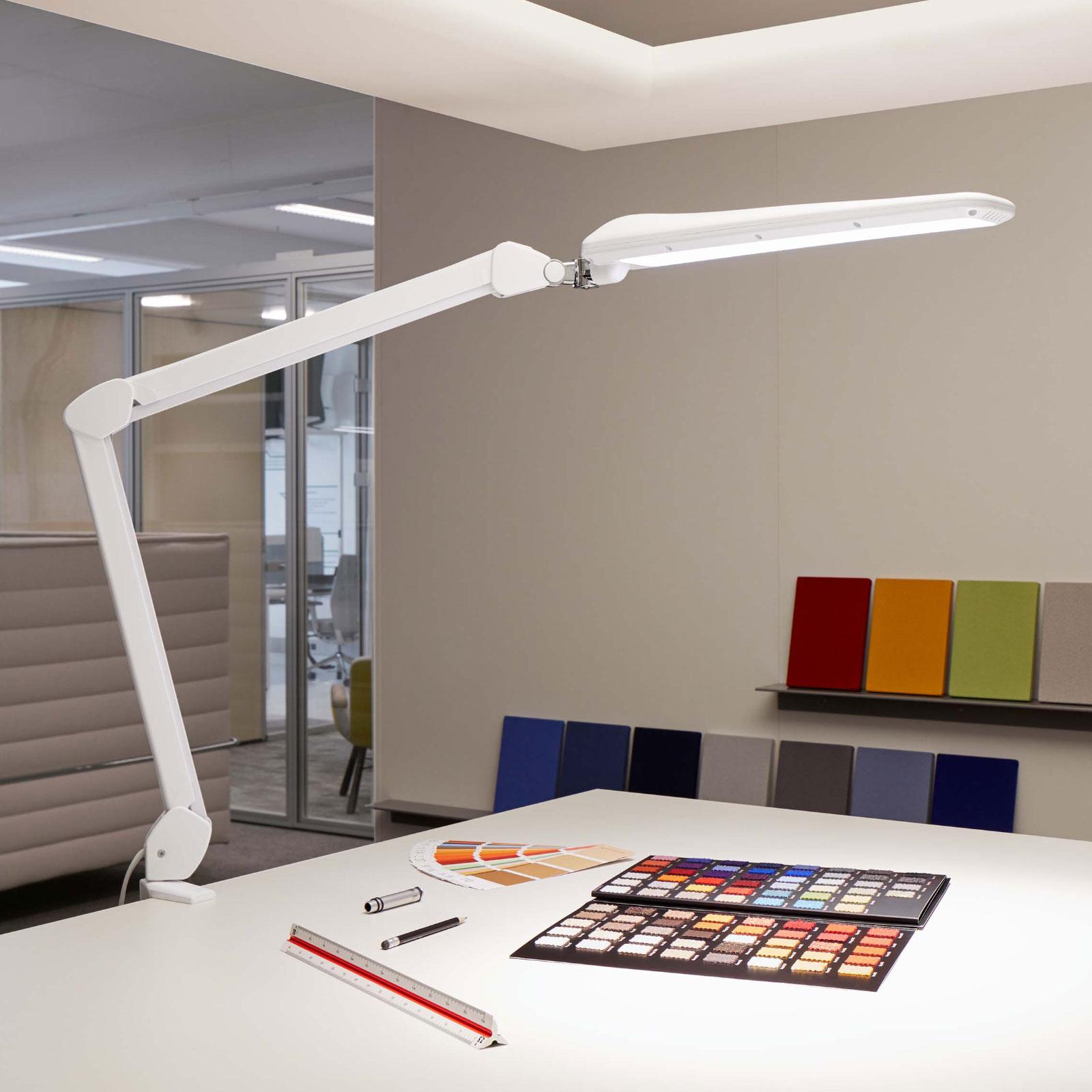 LED tafellamp MAULcraft met klemvoet, dimbaar