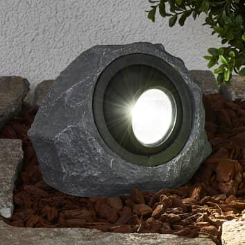 Lichtgevende solarsteen Lior met LED