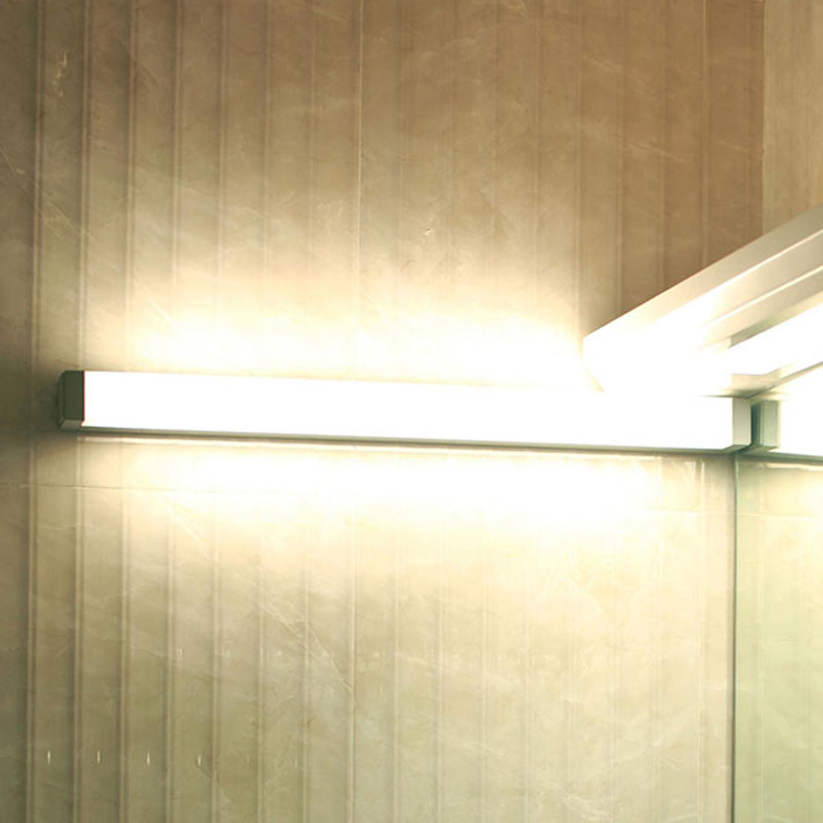 LED-Wandleuchte 512106 für Spiegel, silber