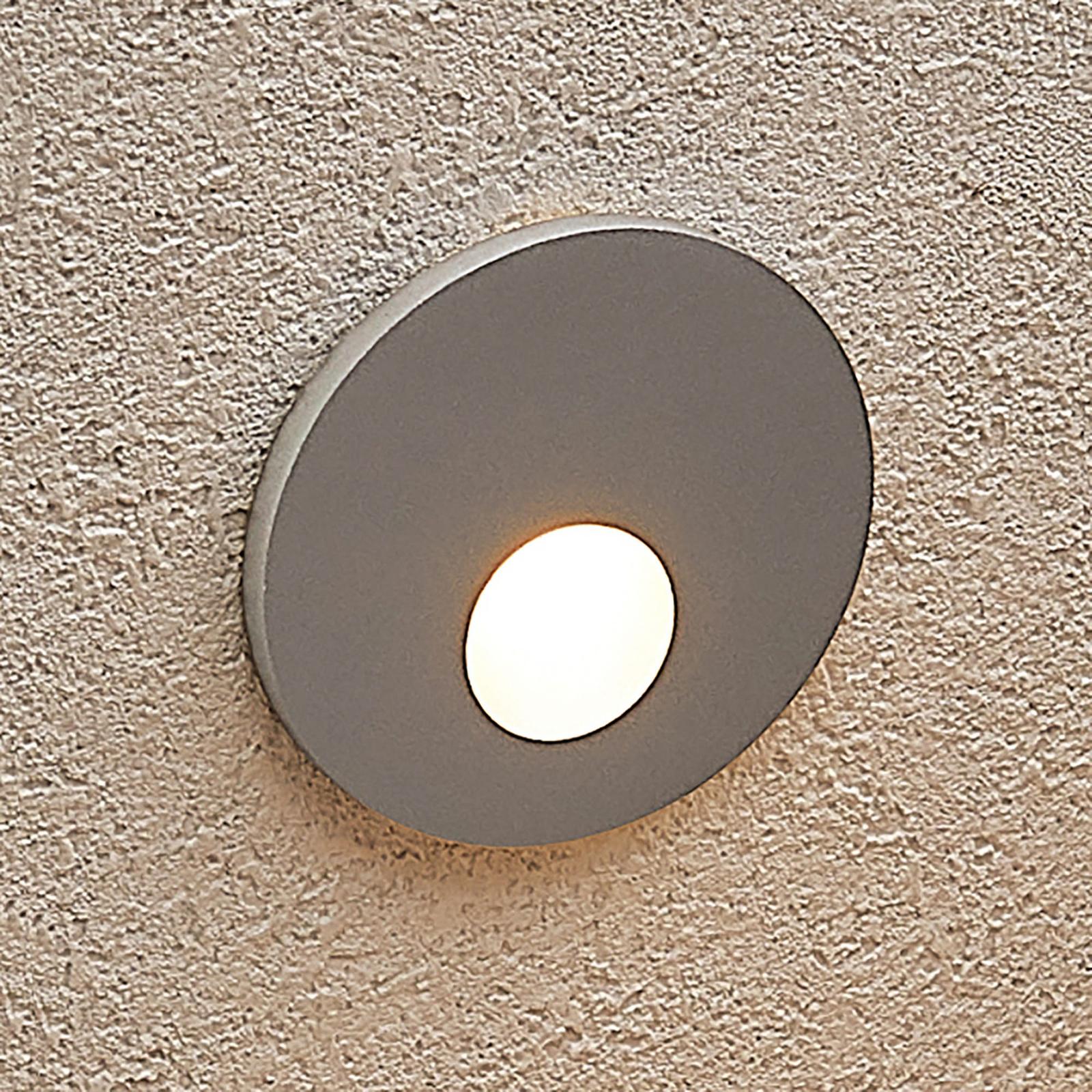 Arcchio Vexi oprawa wpuszczana LED okrągła srebrna