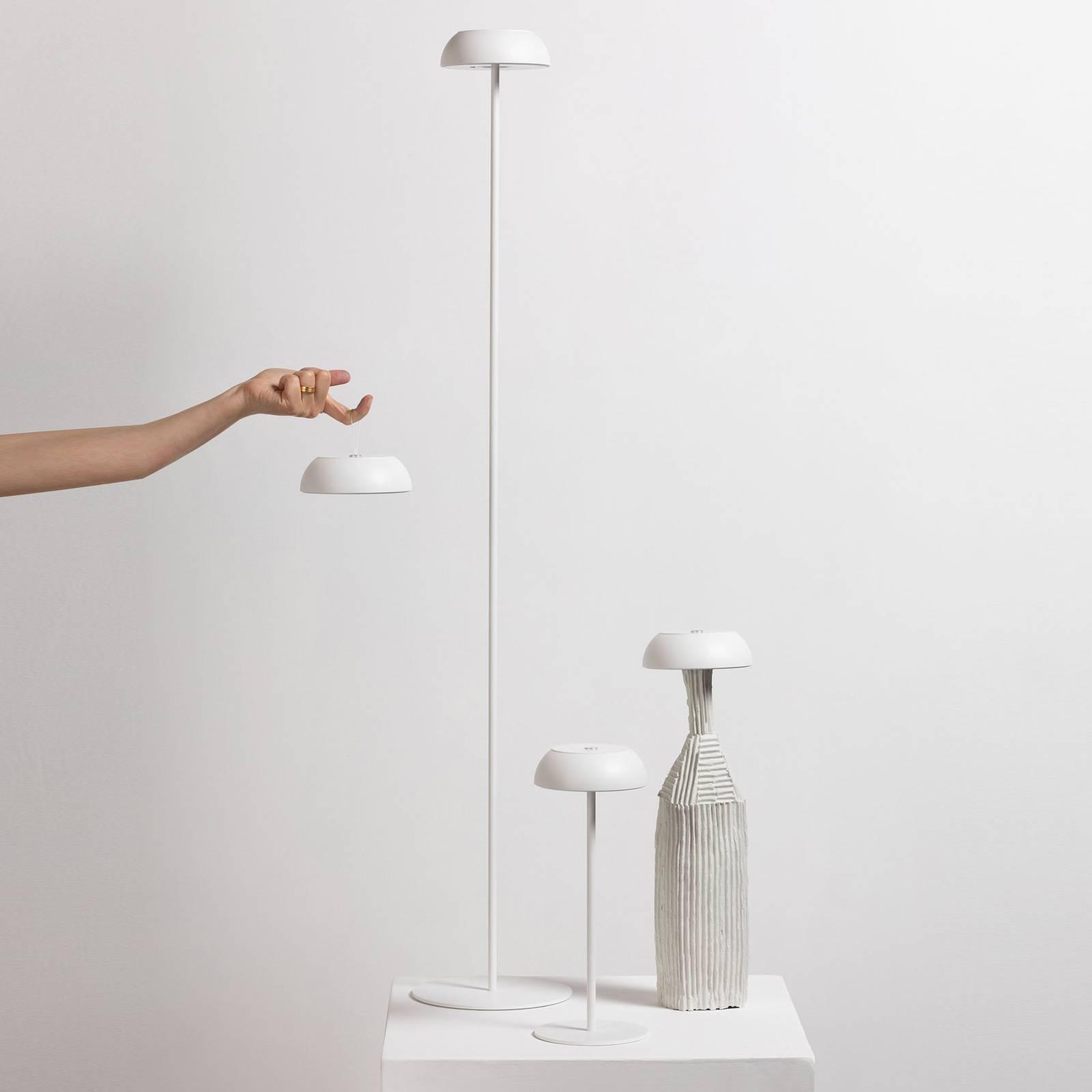 Axolight Float lampadaire de designer LED, blanc