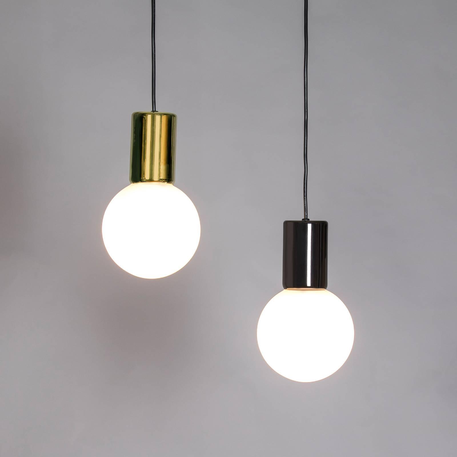 Innermost Purl lampa wisząca LED, mosiądz