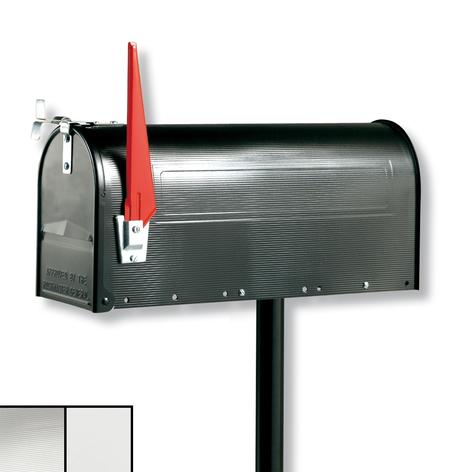 U.S. MAILBOX con bandera giratoria