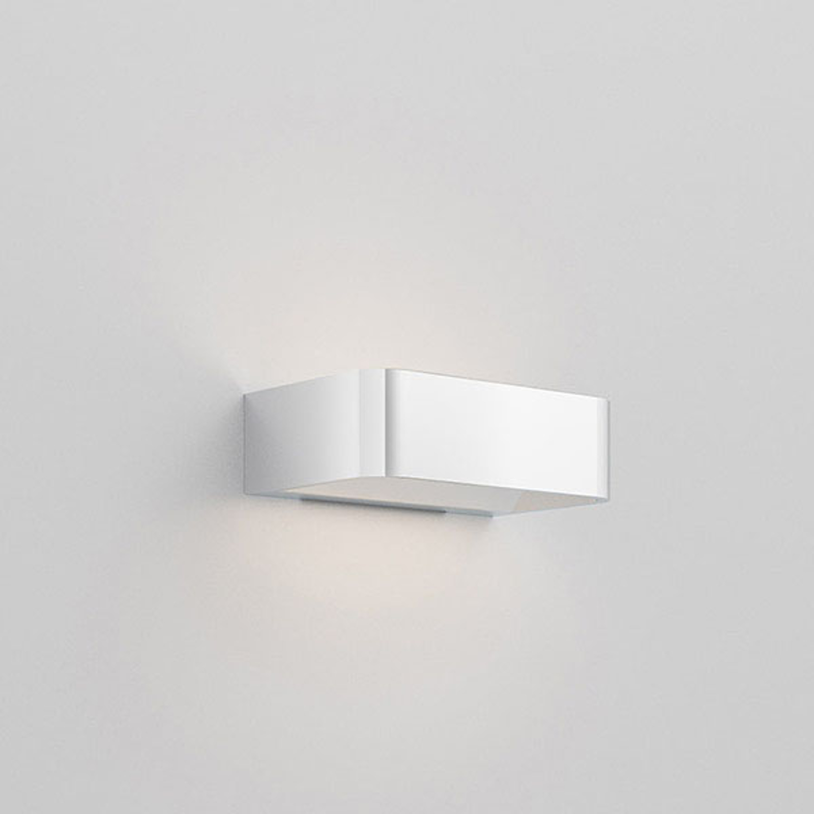 Rotaliana Frame W1 LED-vegglampe krom 2700K