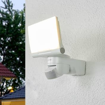 Aplique LED exterior XLED Home 2, sensor en blanco