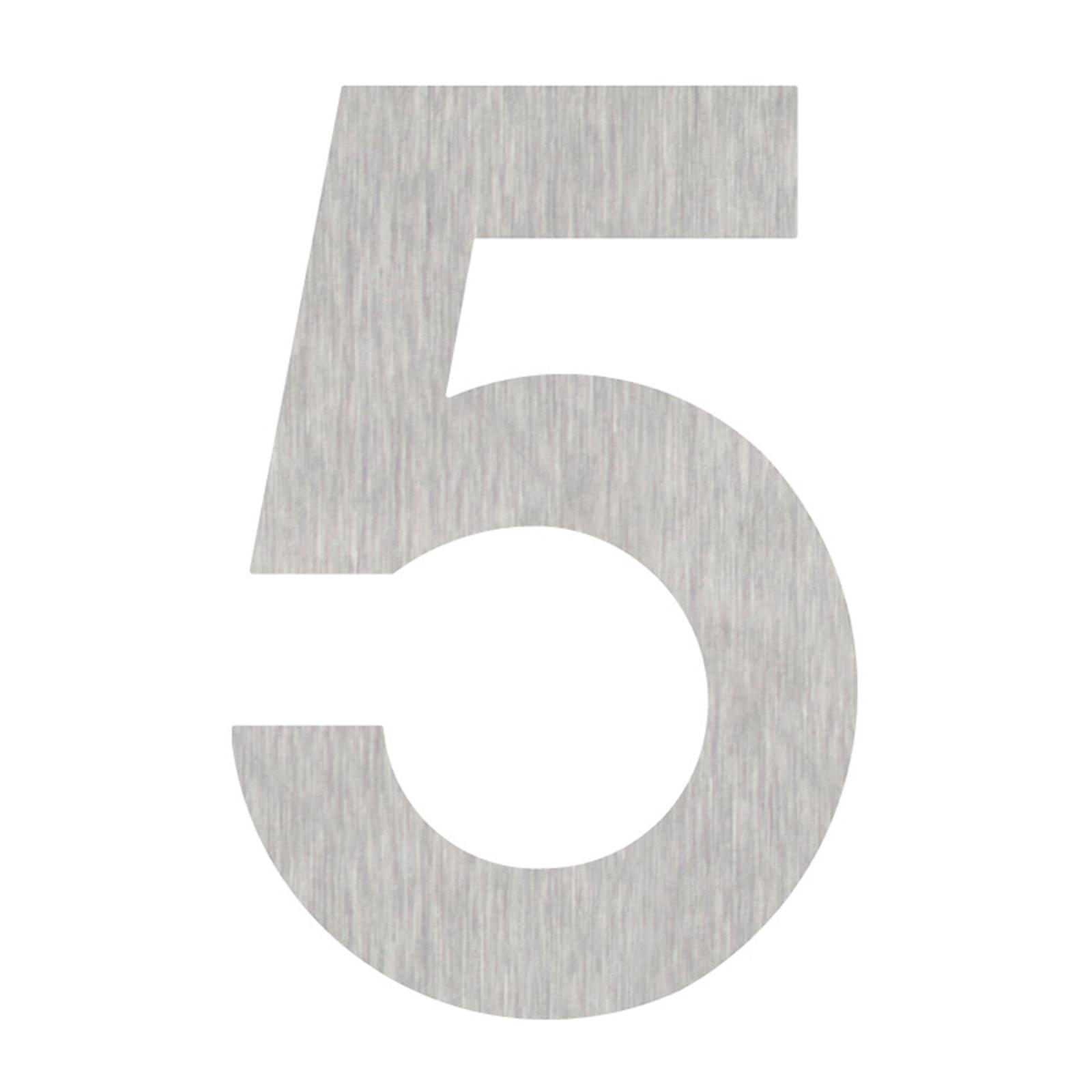 Produktové foto Heibi Domovní čísla číslice 5