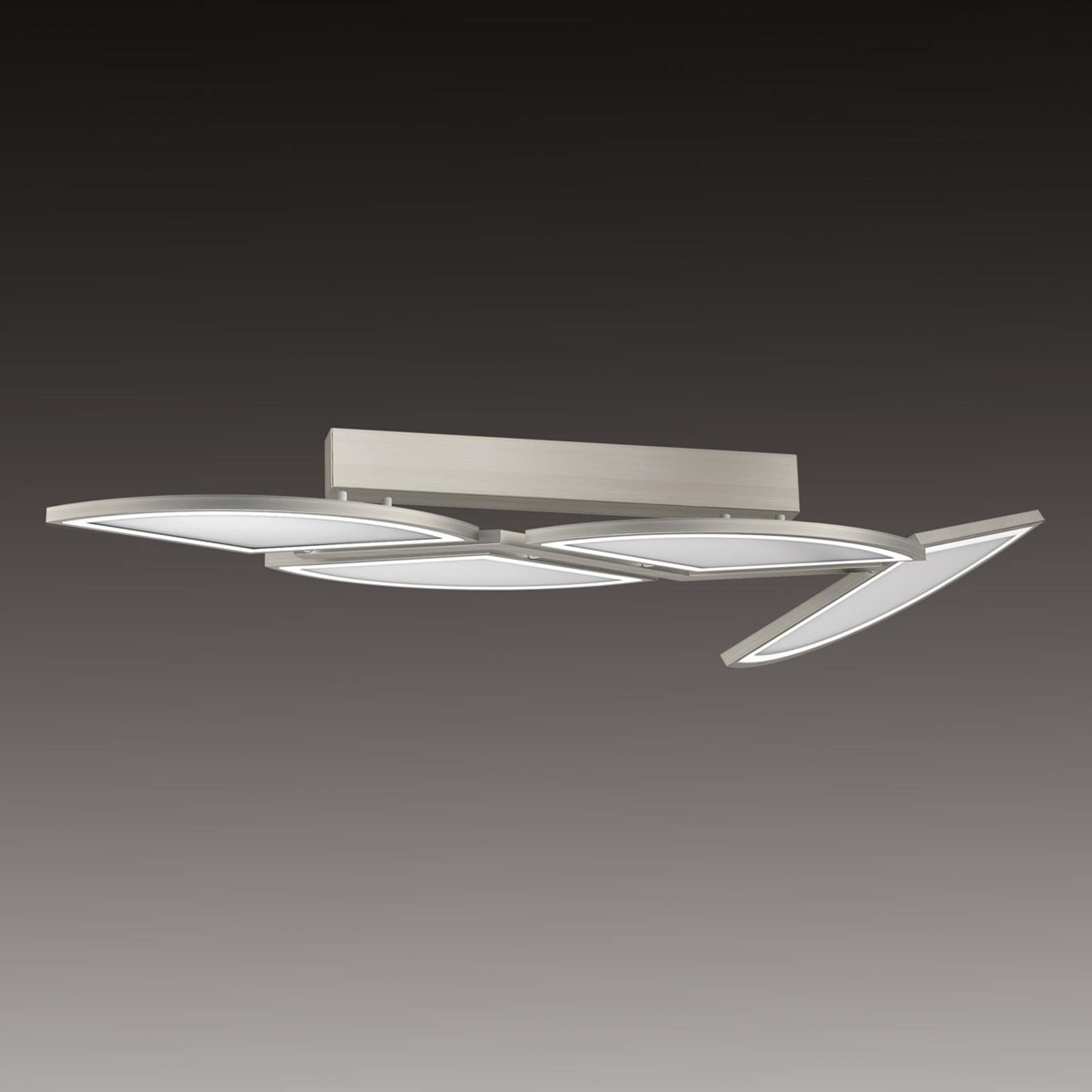 Movil - lampa sufitowa LED z 4 segmentami