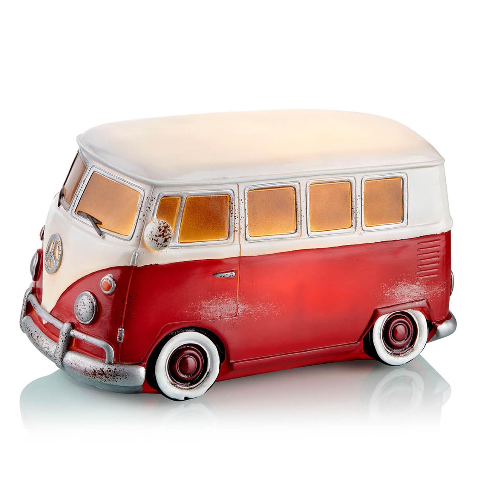 LED-lampan Nostalgi i kultig VW Buss-design
