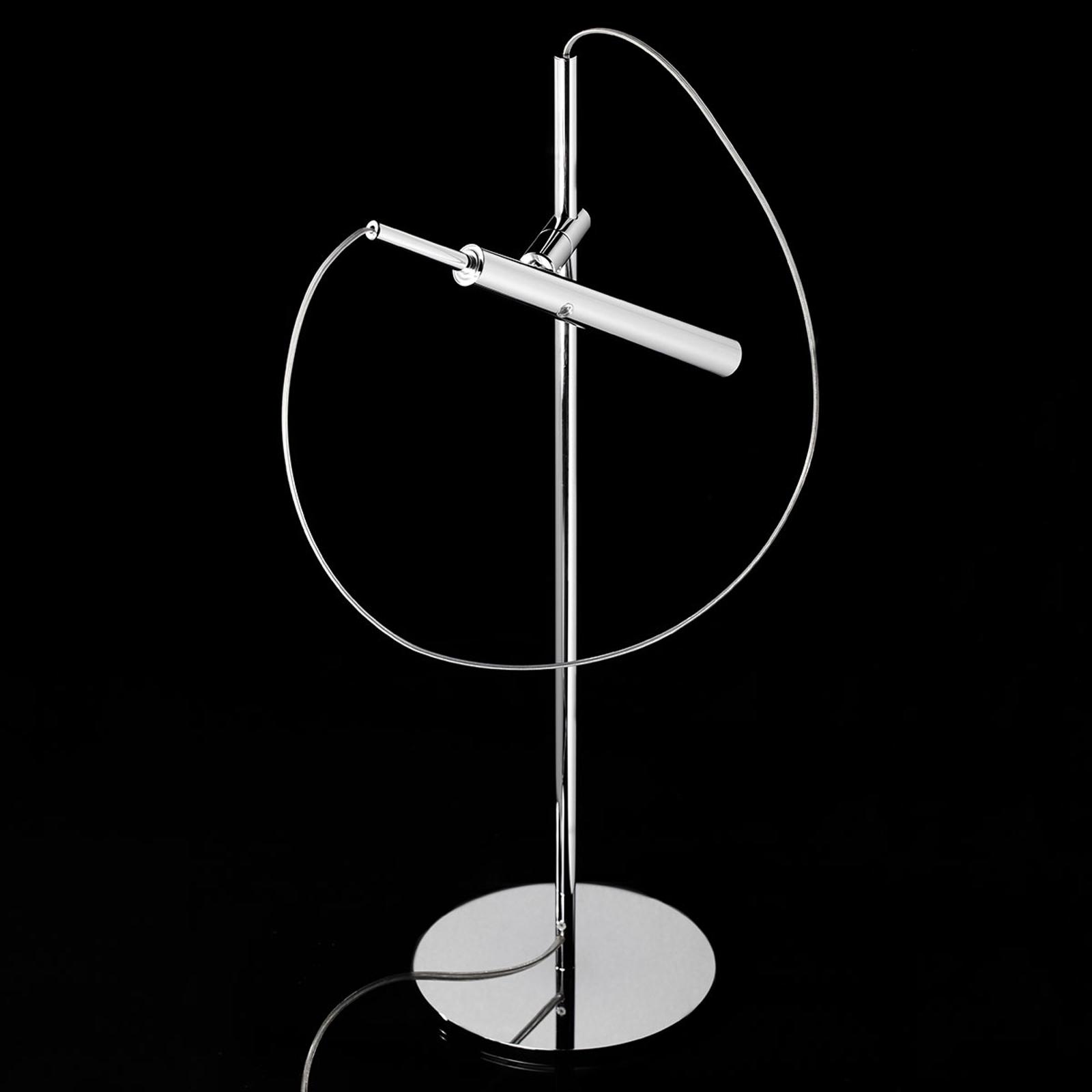 LDM Eccoled Flamingo Tablo LED-Tischleuchte, chrom