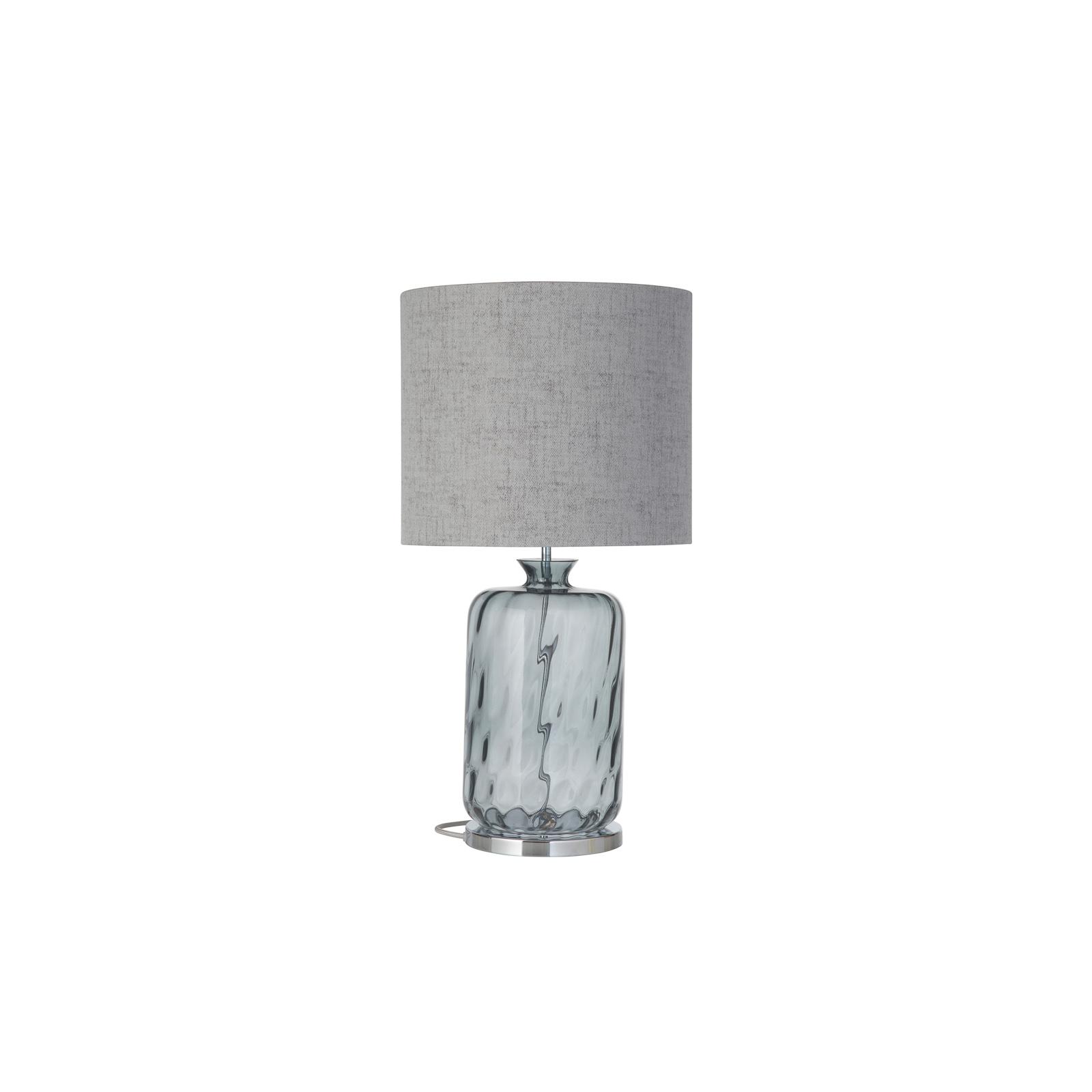 EBB & FLOW Pillar lampe à poser, grey/gris fumé