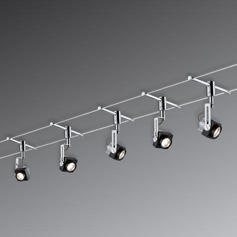 LED-sejlsystem Phase, 5 lyskilder, kompl.