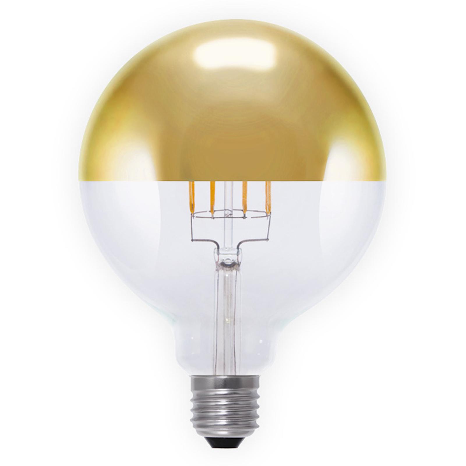 Lampadina a filamenti LED globo 926 G125 E27 8W