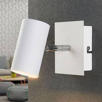 Foco LED Iluk para pared y techo, en blanco