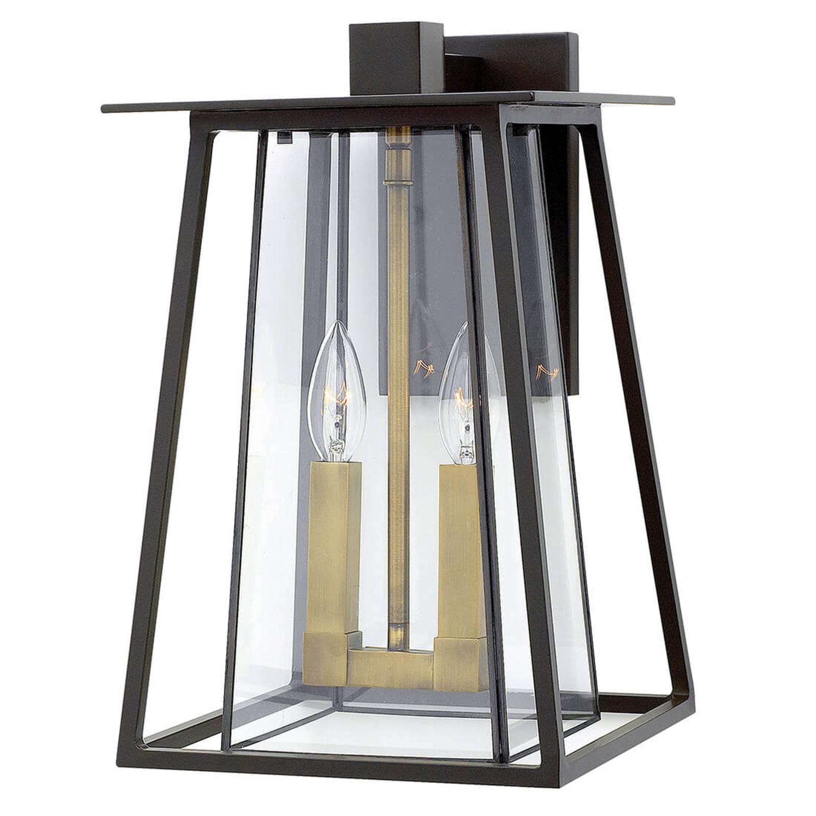 Helder gestructureerde wandlamp Walker