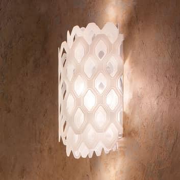 Slamp Charlotte lampa ścienna wzór plastra miodu