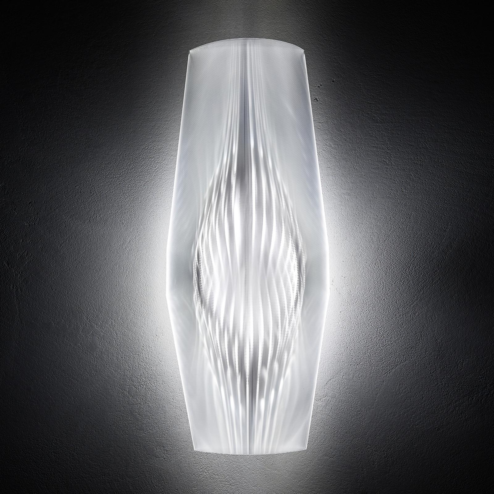 Applique de designer LED transparente Mirage