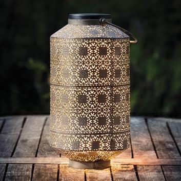 Dekorativ LED-solcellslampa Orient 30cm