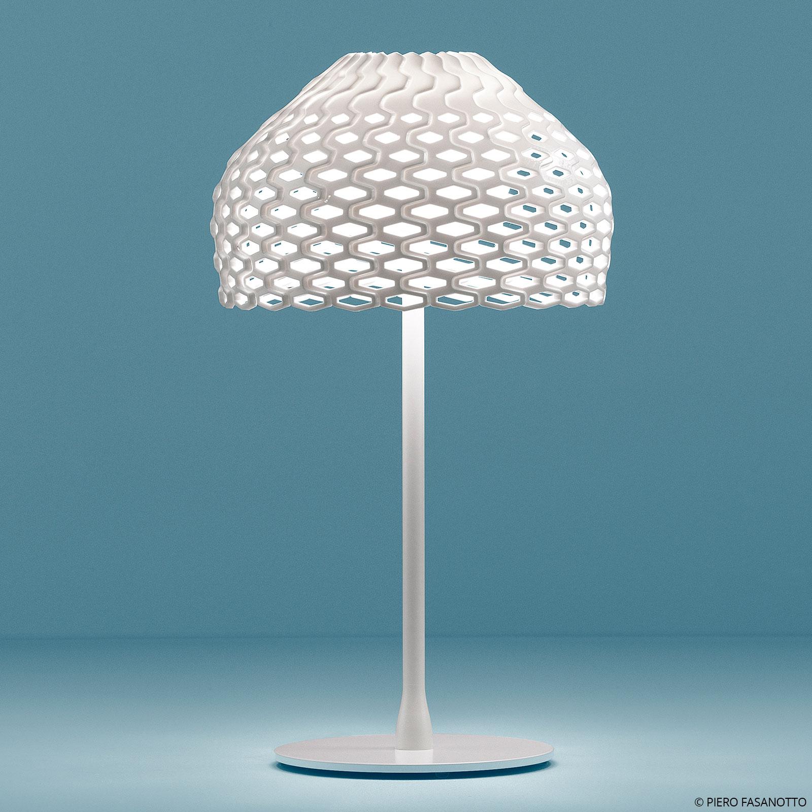 FLOS Tatou T bordlampe med dæmper, hvid