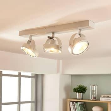 Moderne LED-taklampe Lieven i hvit