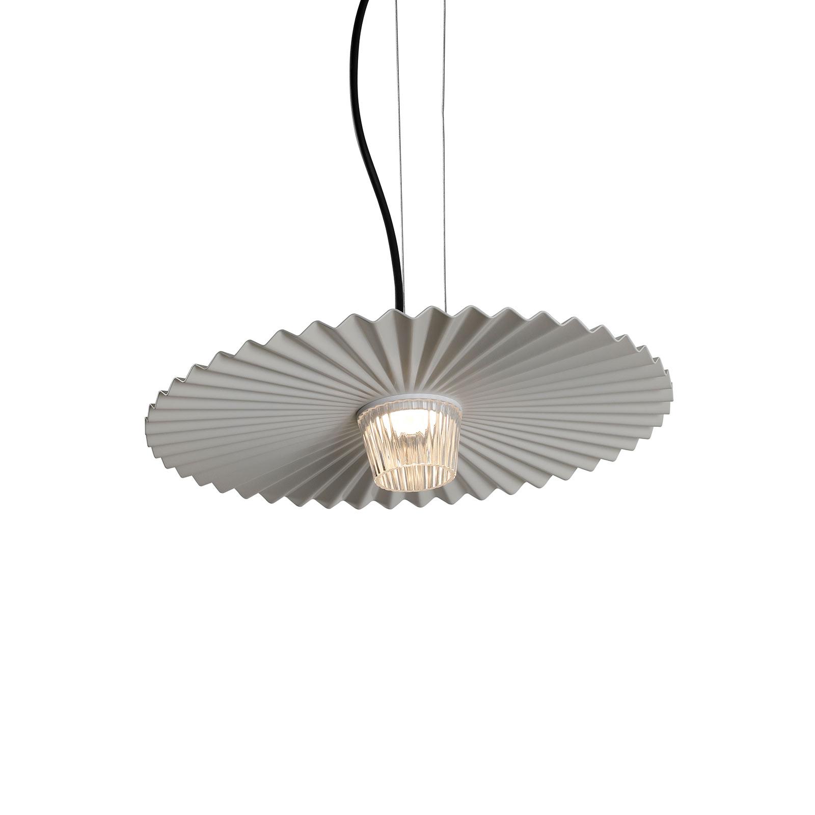 Karman Gonzaga LED-hængelampe, Ø 42 cm, hvid
