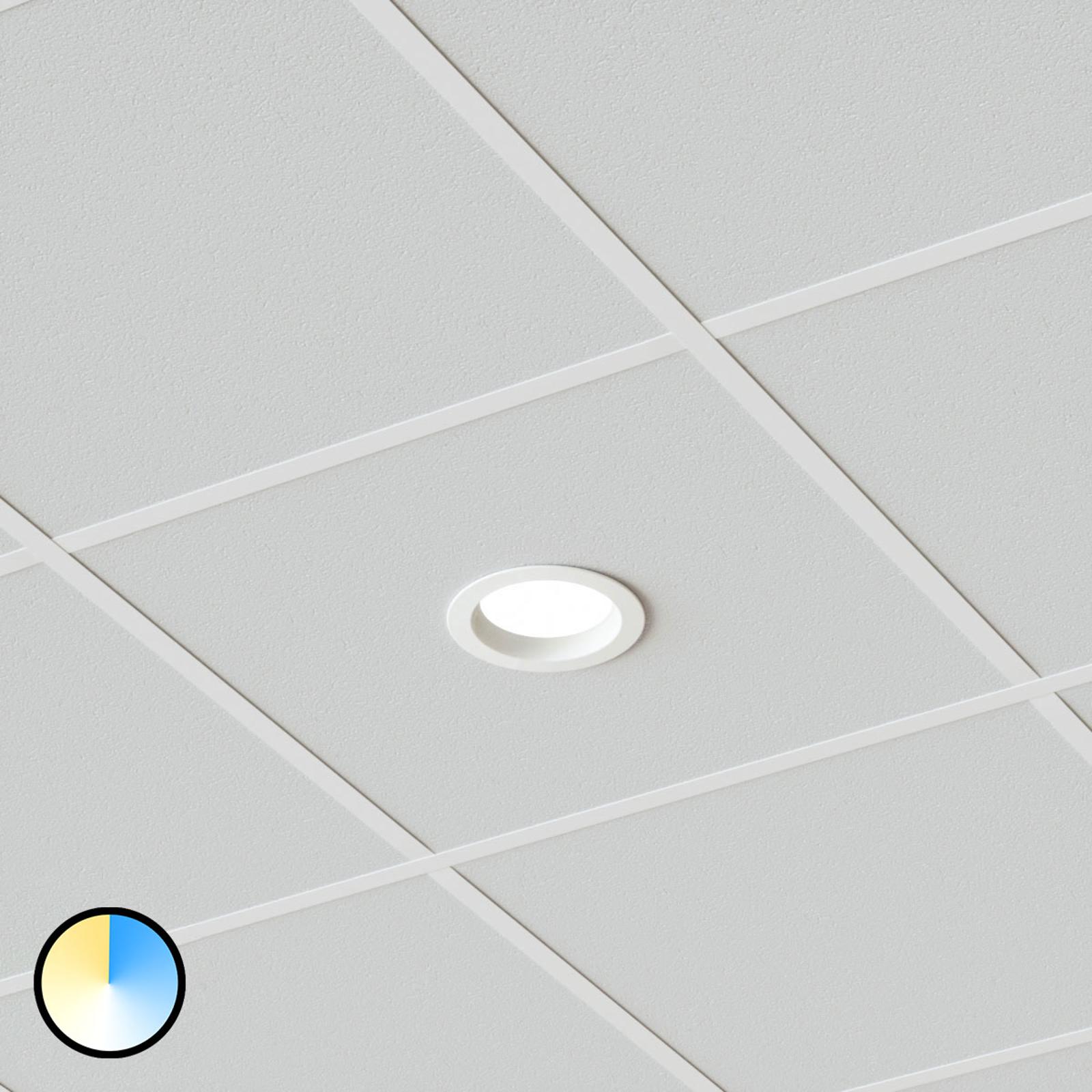 Wählbare Lichtfarbe - LED-Einbaulampe Piet IP44
