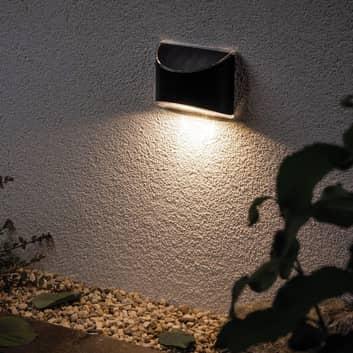 Paulmann Elliot -seinälamppu, akku, aurinkok.