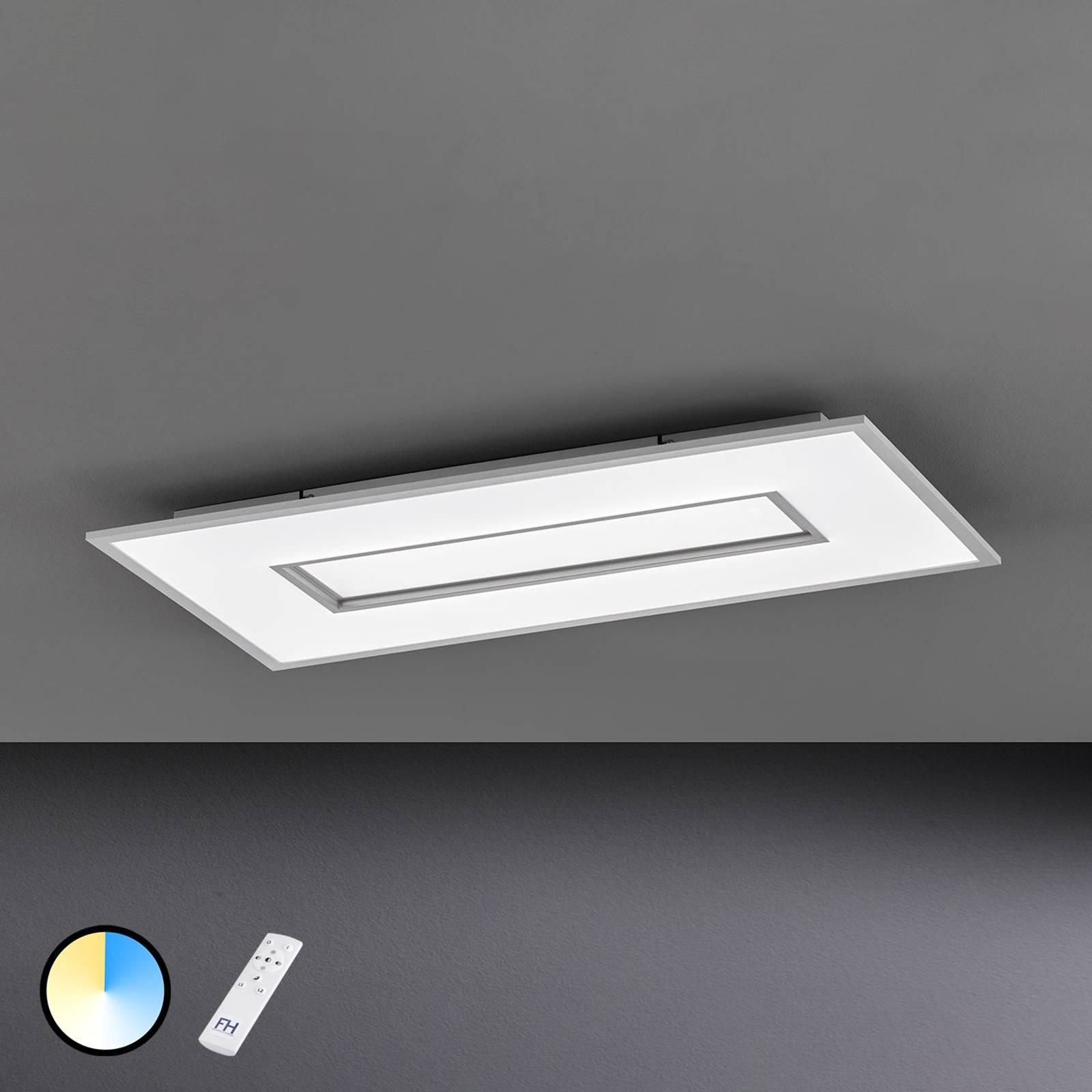LED plafondlamp Tiara rechthoek 80x40 cm