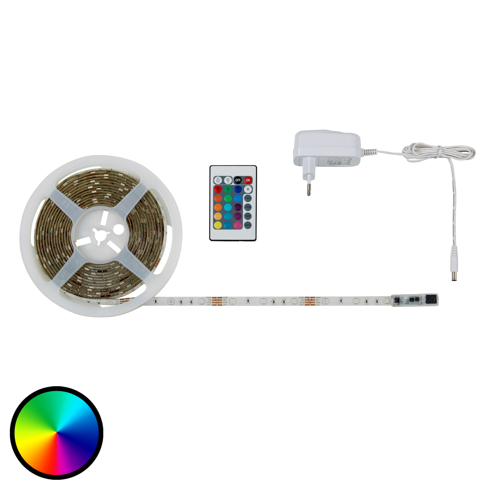 LED-Strip 2067-150 RGB, selvklæbende