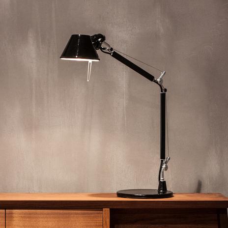 Artemide Tolomeo Micro lampa stołowa, czarna
