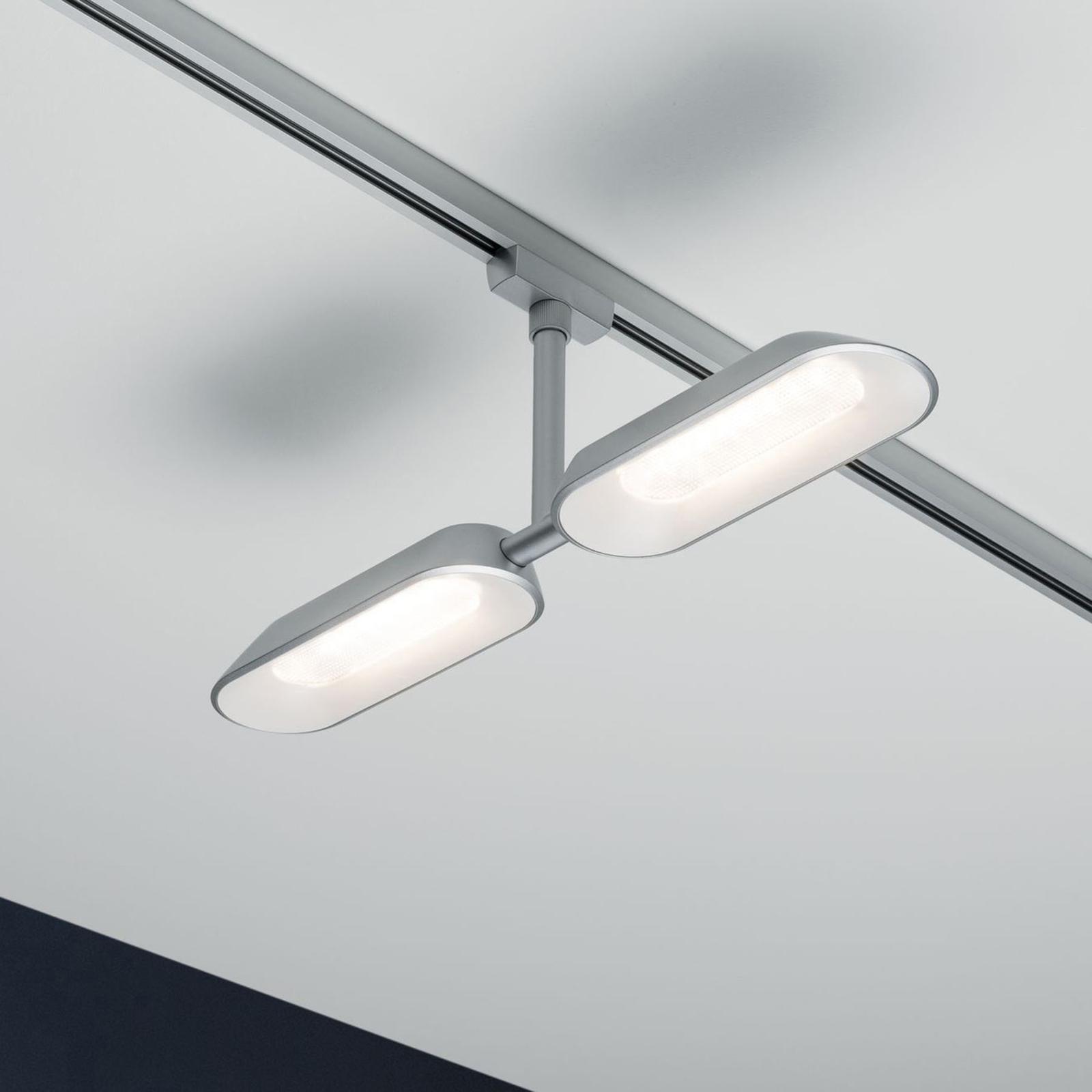 Paulmann URail spot LED Dipper, à 2 lampes