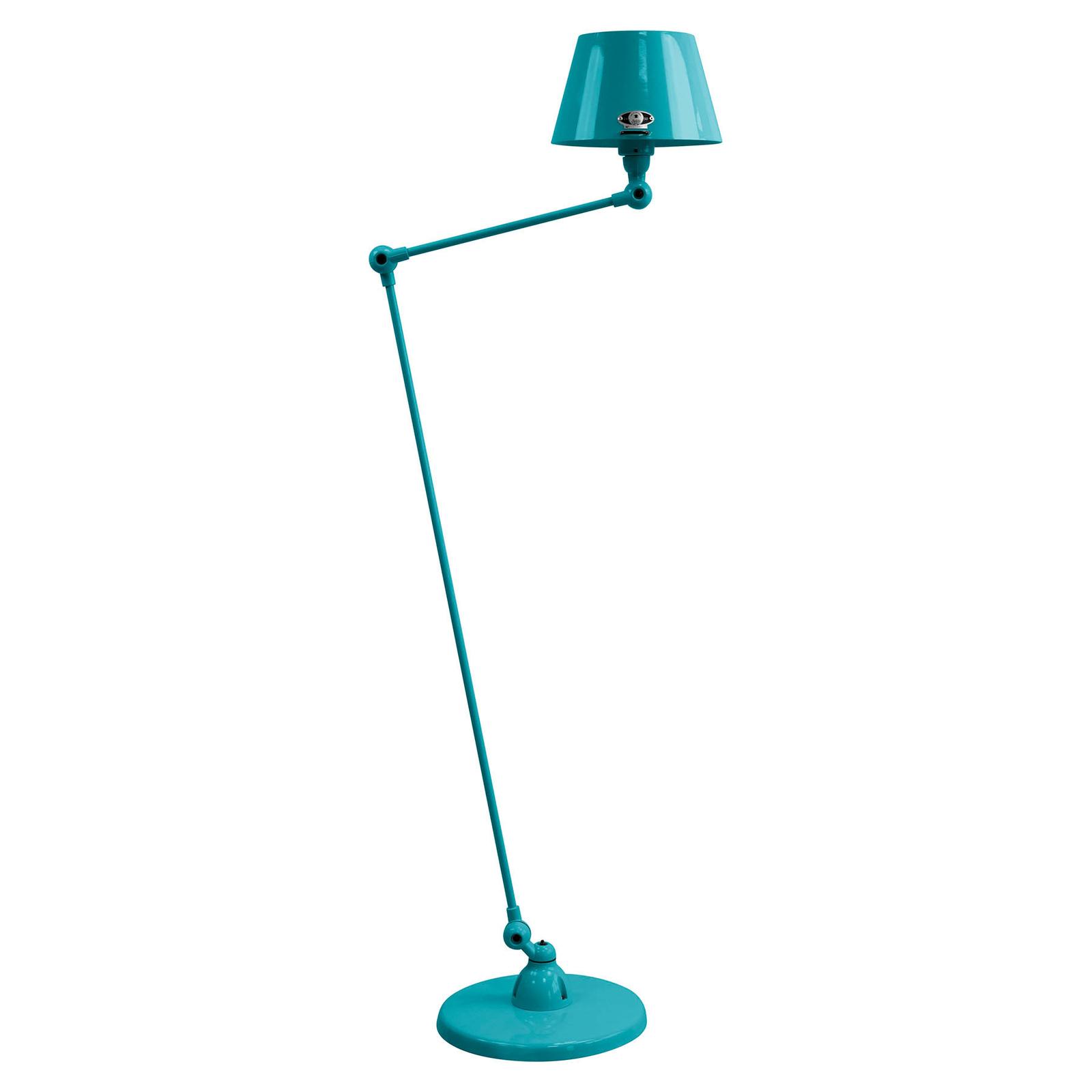 Jieldé Aicler AID833 80+30 lampa stojąca błękitna