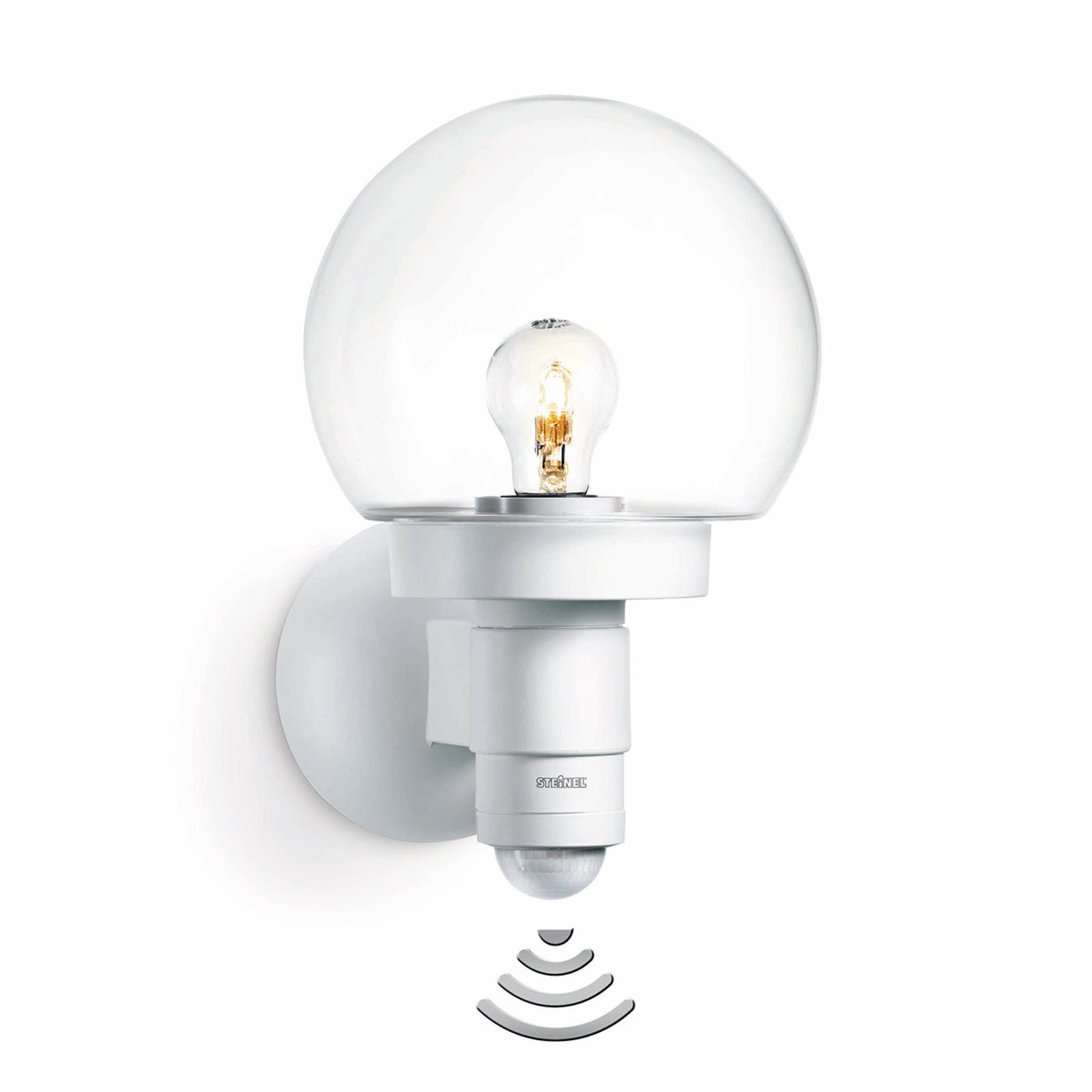 STEINEL L 115 S lampa ścienna z czujnikiem biała
