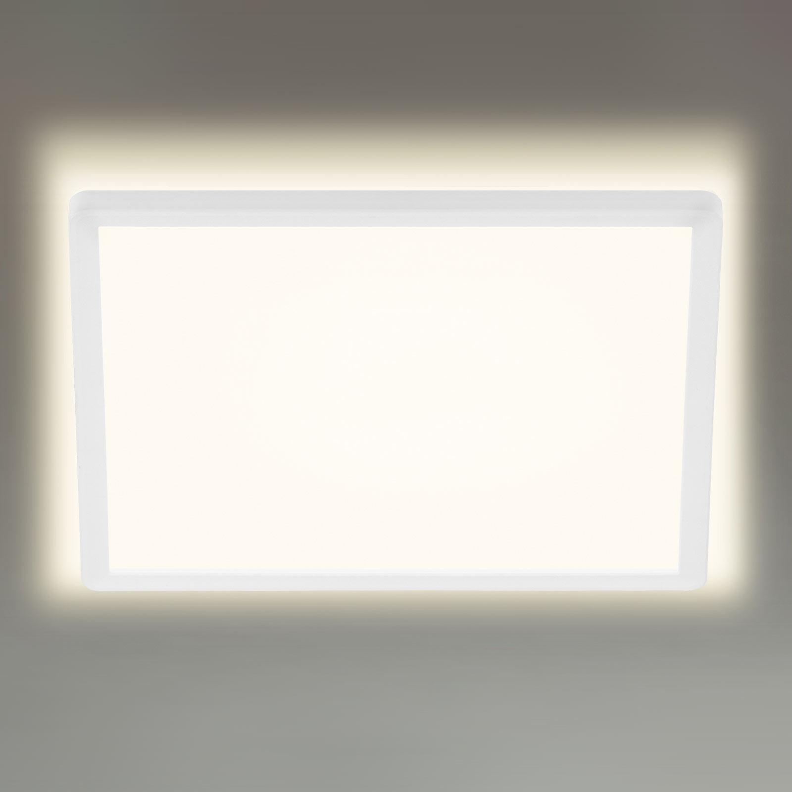 LED-taklampe 7156/7158, kantet 29,3x29,3cm