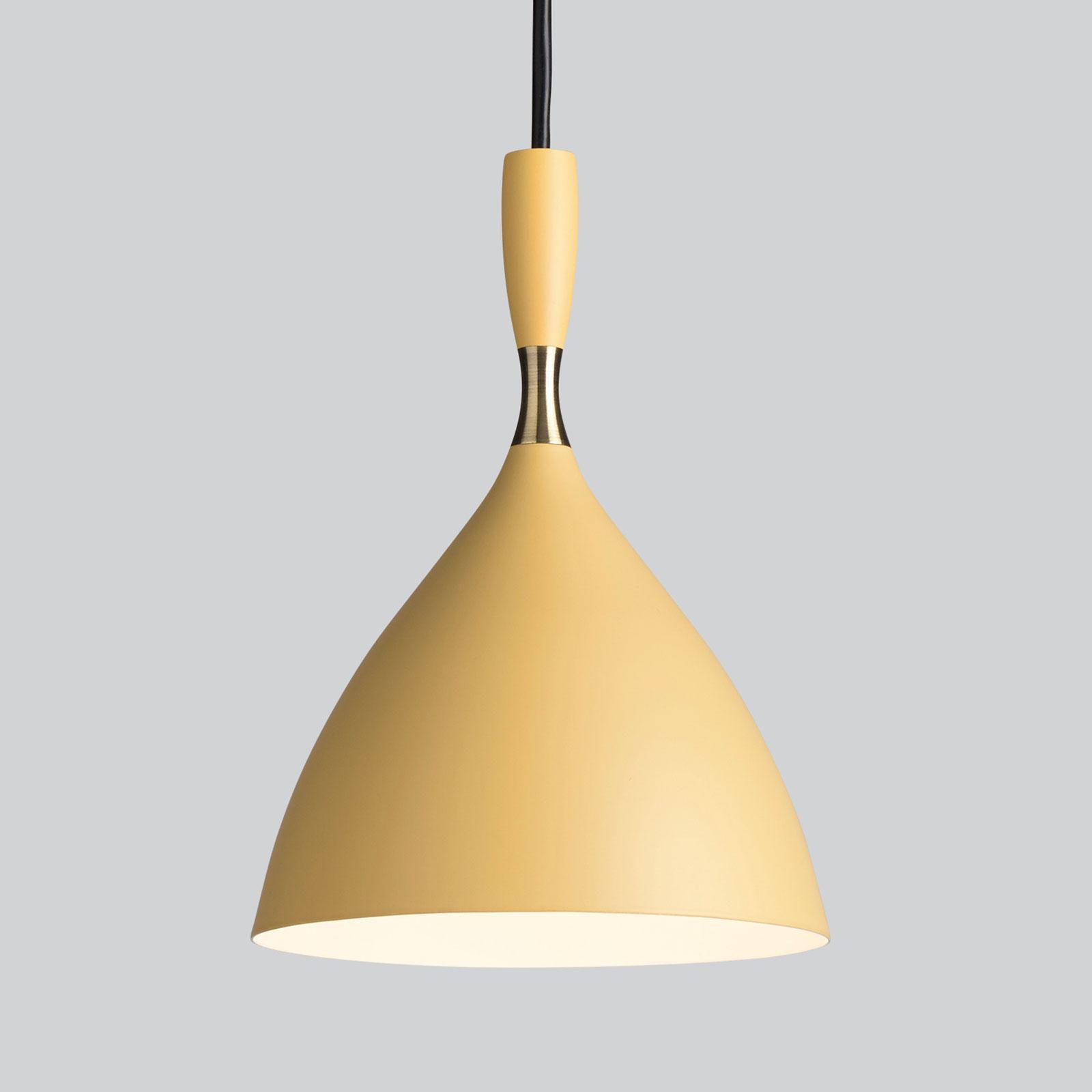 Northern lampa wisząca Dokka jasnożółta