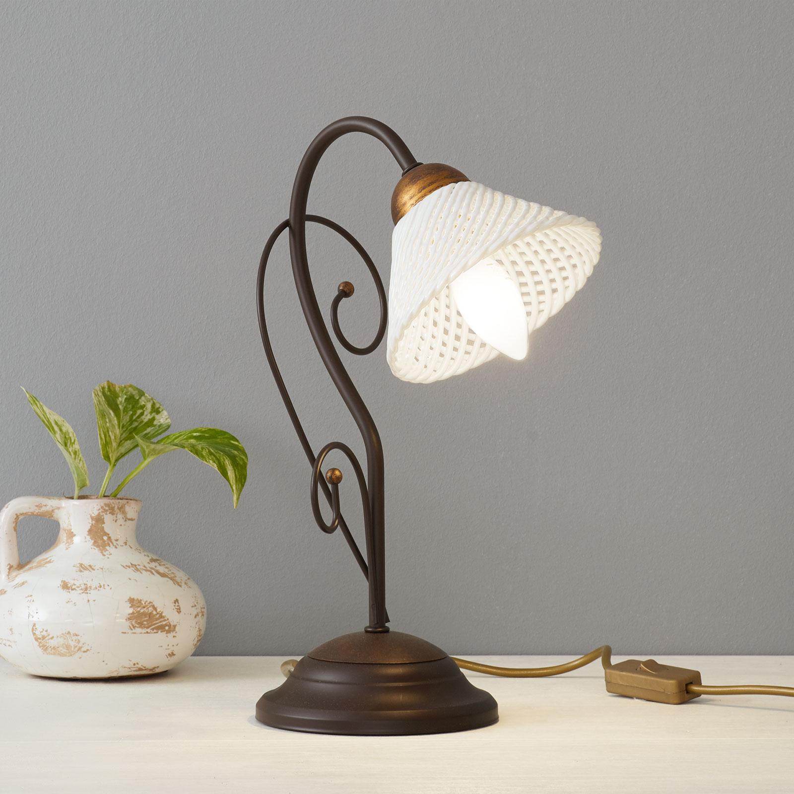 Elegante lámpara de mesa RETINA