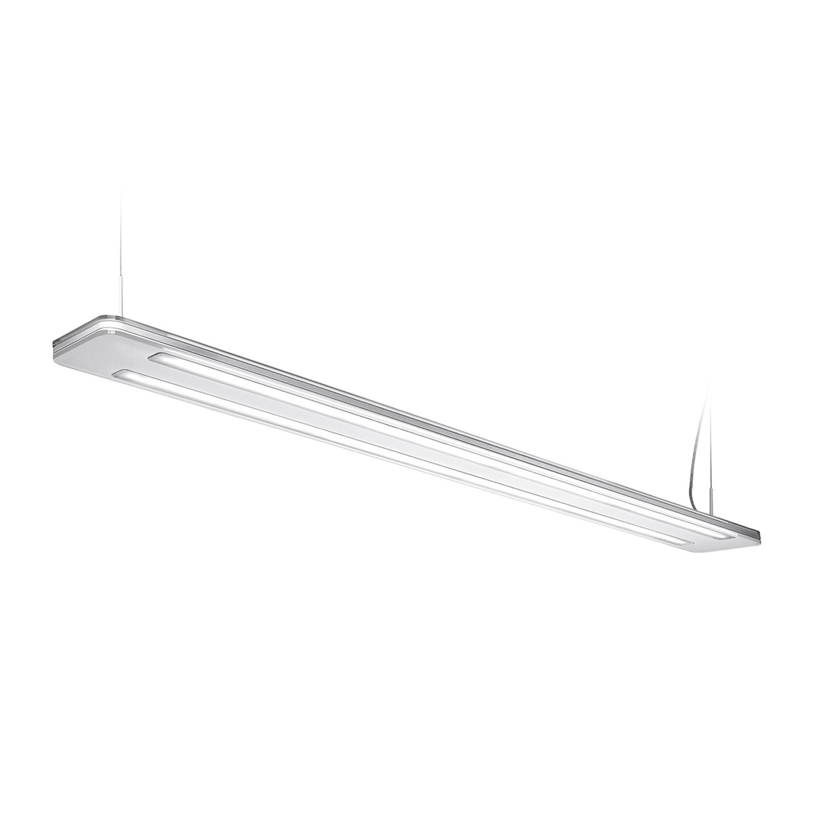 LED-Pendelleuchte Trentino II, 156 W, weiß
