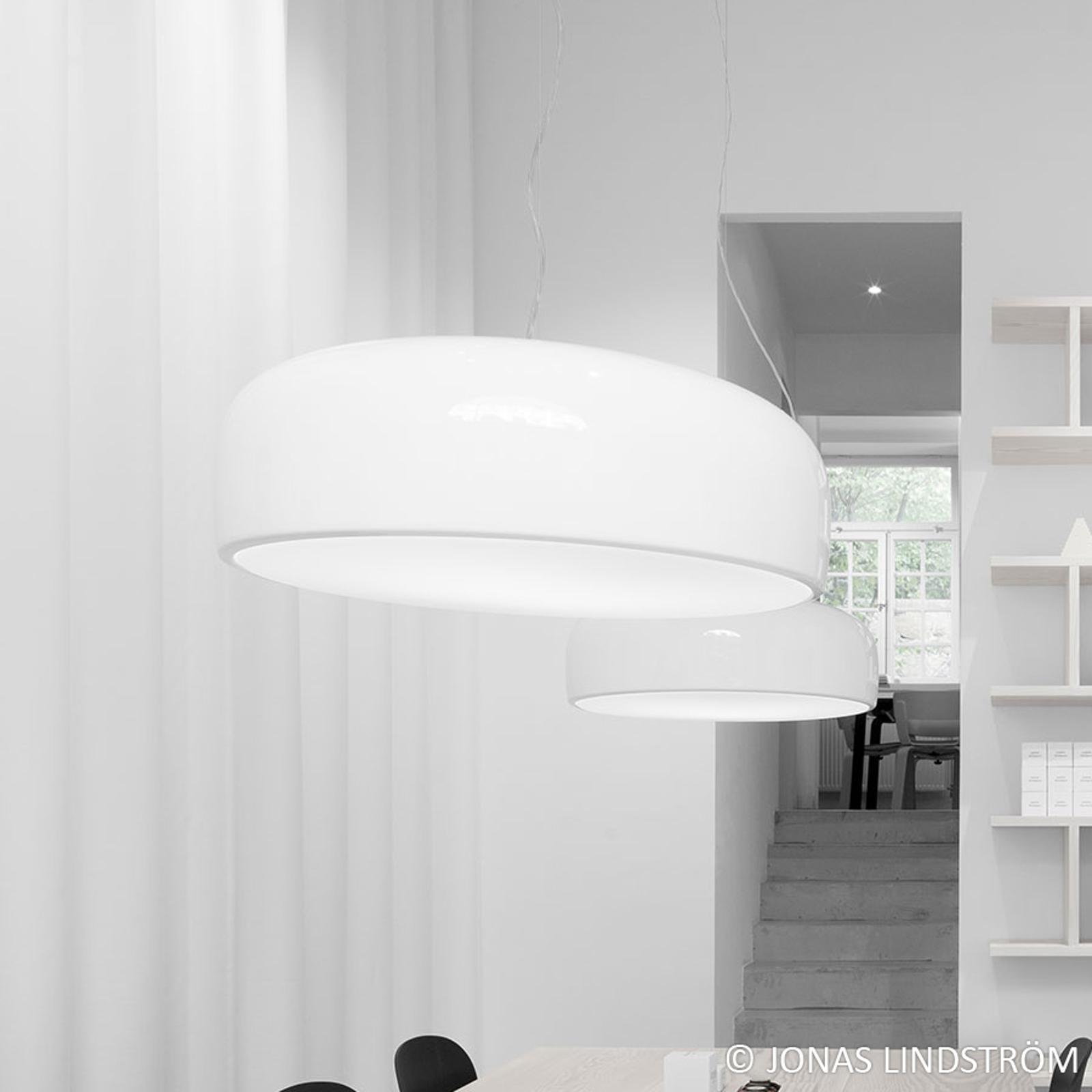 FLOS Smithfield LED-hengelampe, hvit