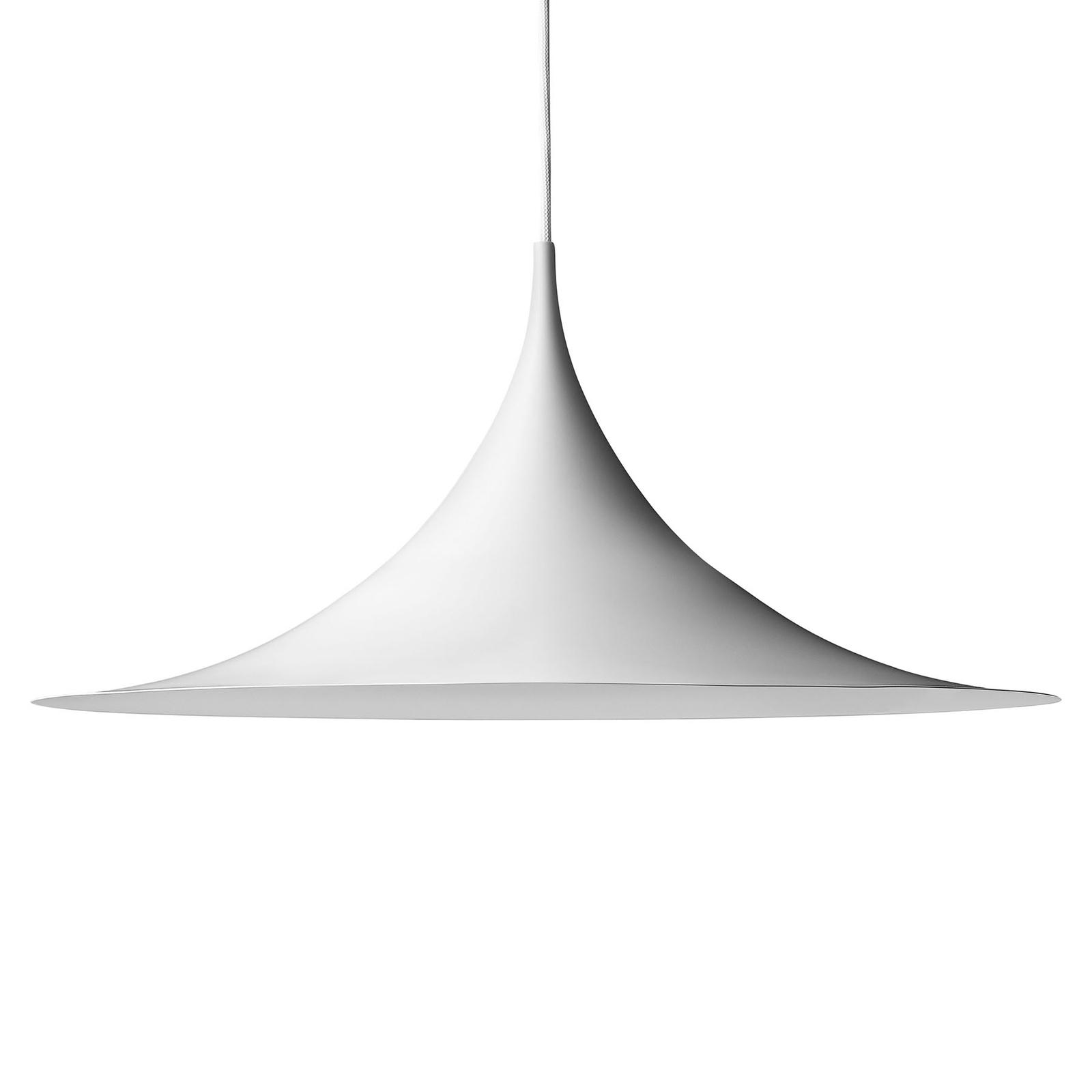 GUBI Semi suspension Ø 60cm blanche