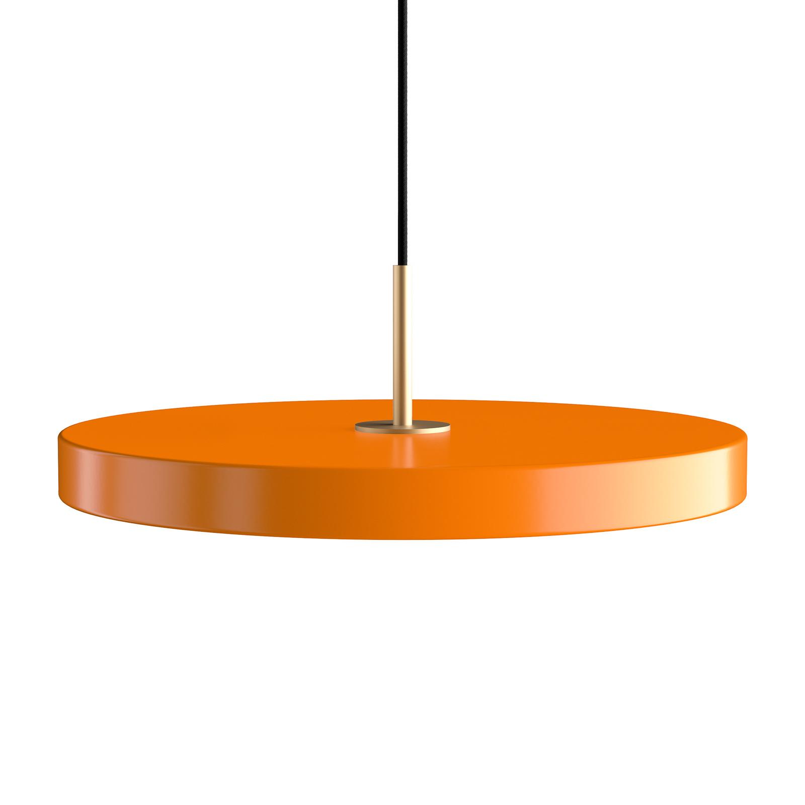 UMAGE Asteria medium colgante latón naranja