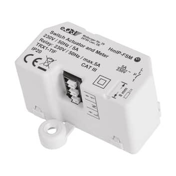 Homematic IP skifte-måle-aktuator, planf. maks 5 A