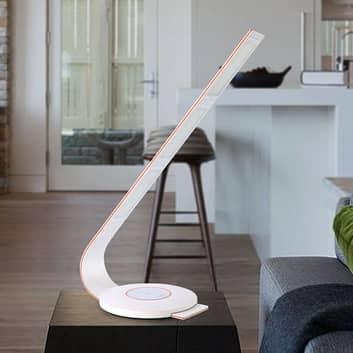 TRAE Pia OLED stolní lampa, bílá